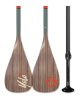 Adjustable SUP Paddle - Woody Classic