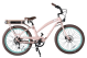 YOLO 30A Electric Cruiser Bike - Flamingo Step-Thru