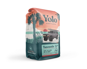 YOLO TANZANIA MEDIUM-DARK ROAST COFFEE 12OZ.