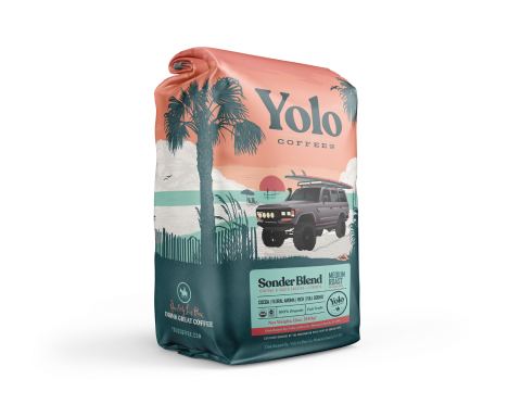 YOLO SONDER BLEND MEDIUM ROAST COFFEE 12OZ.