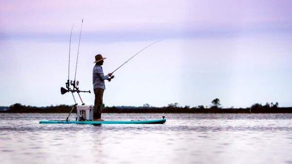 YOLO Stand Up Paddle Board Fishing Tips