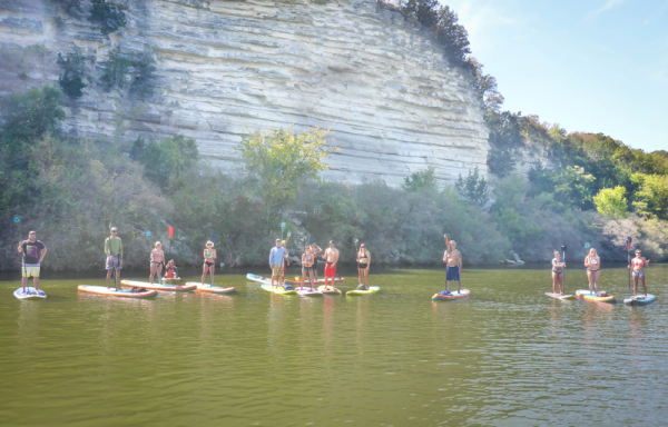 Team Rider Tyler Marshall Hosts Paddleboard Camping Trip