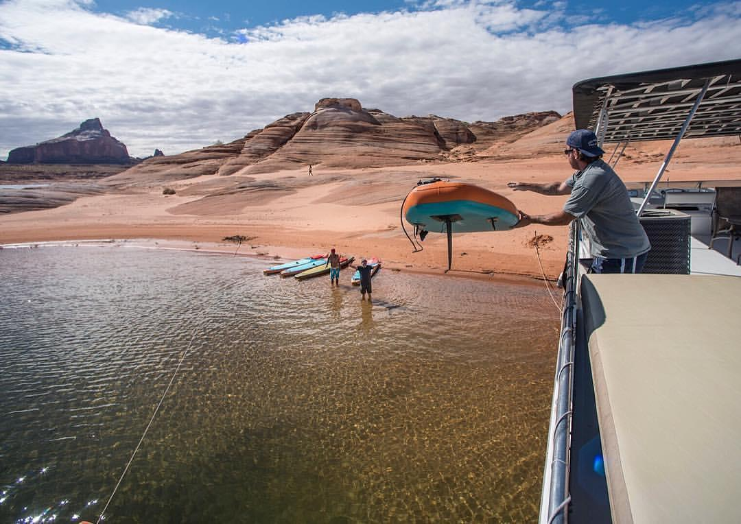 Lake Powell SUP Camp Led by YOLO Team Riders