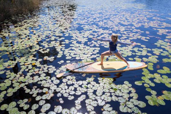 SUP Fitness and Paddleboard Yoga