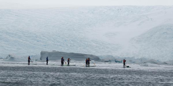 Polar Vortex Paddling - NOT!