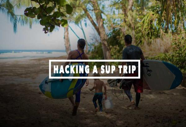 Hacking A Paddleboard Trip - 5 apps for paddleboarders
