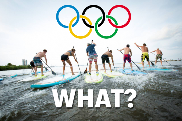 SURFING AND PADDLEBOARDING ON ITS WAY TO THE OLYMPICS?