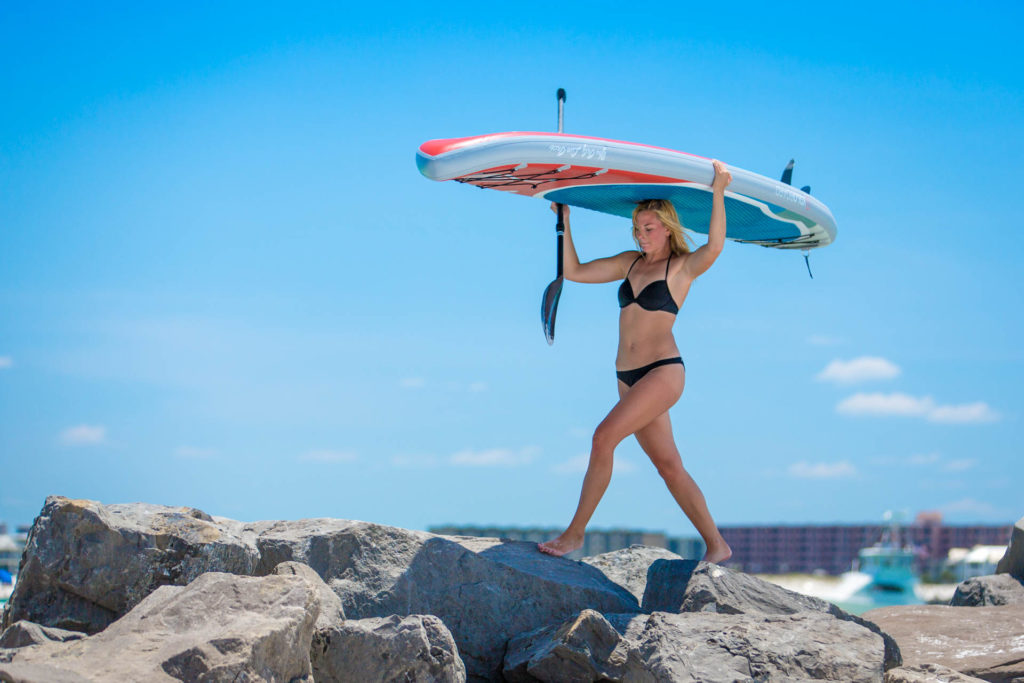 The best paddle board is